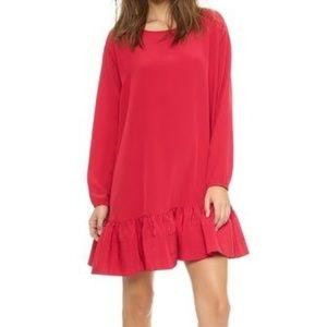 Cynthia Rowley flounce dress